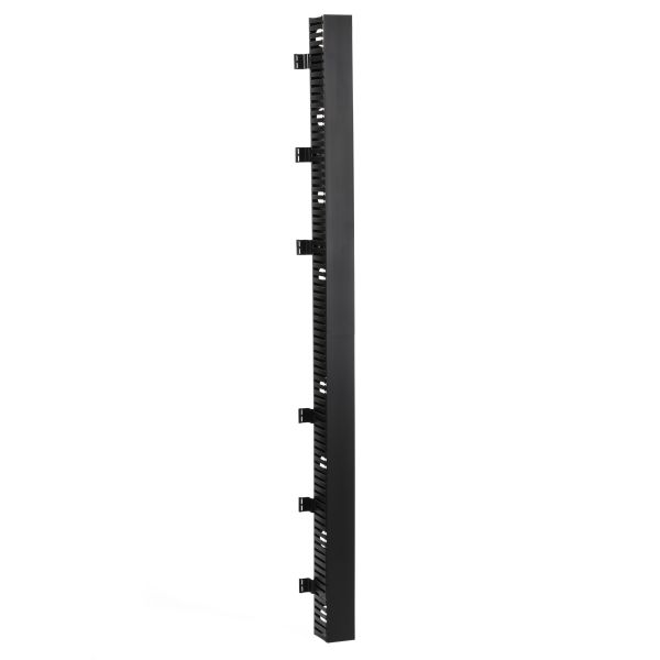 Vertical Wire Manager Single-Sided, Side Mount, 4.0